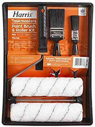 Paint Brush and Twin Sleeve Roller Kit
