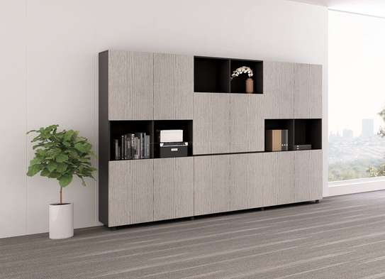Book Shelf With Cabinet