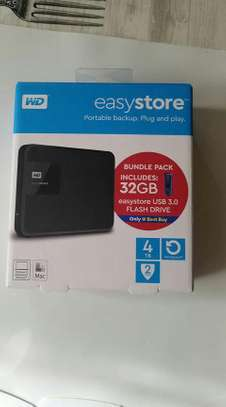 WD External Hard Drive With Bonus Pack