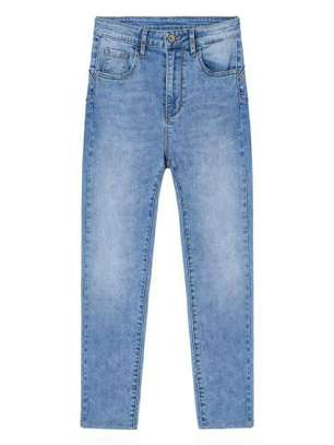 Blue New Fashion Women Trouser