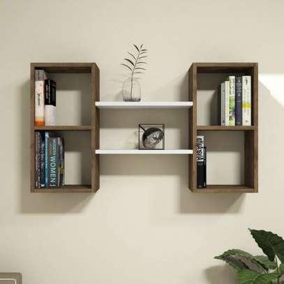 Modern and stylish wall shelf