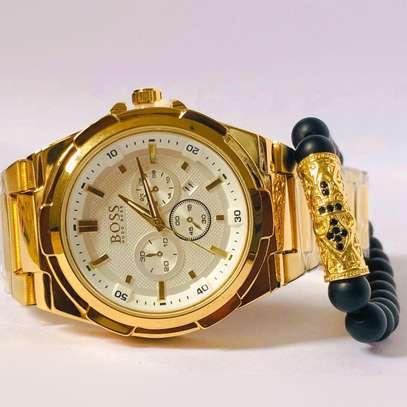 Boss Watch + Bracelet