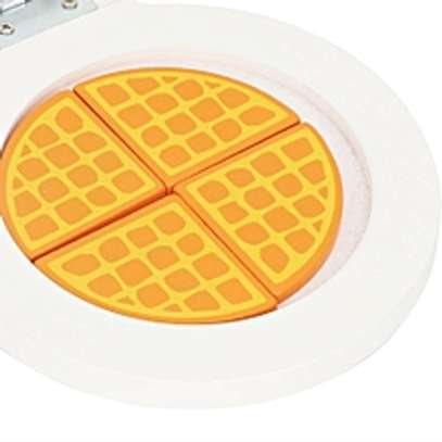 Kids Pretend Play Kitchen Waffle Food Maker Toy image 1