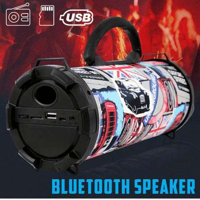 Fashionable Bluetooth Speaker With Fm Memory and USB Option