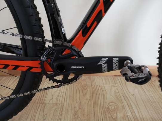 New Scott mountain bike carbon frame size small for men up to 170 cm height image 12