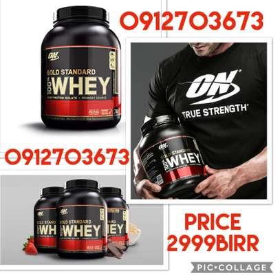 Gold standard whey protein 5LB