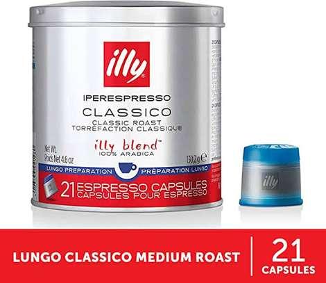 Illy classic roast 21 espresso capsules