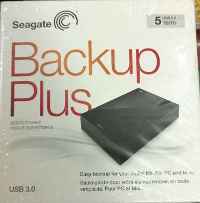 Original Seagate External Hard Disk - Backup Plus