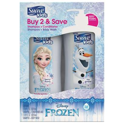 Suave Shampoo +Conditioner + Body Wash For kids image 1