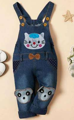 Blue New Fashion Kids Full Dress
