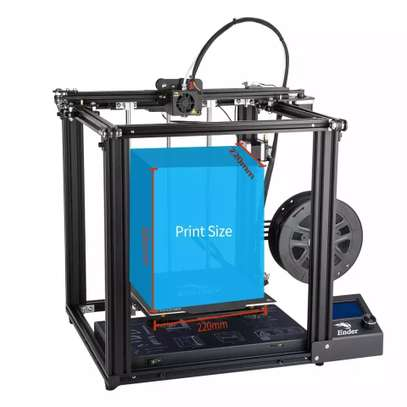 CREALITY Ender-5 3D Printer; Dual Y-axis Motors; Magnetic Build Plate; Power off Resume Printing; Enclosed Structure image 4