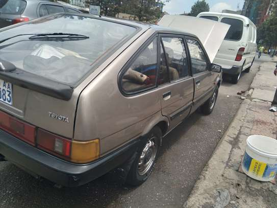 1986 Model-Toyota Liftback GL image 3