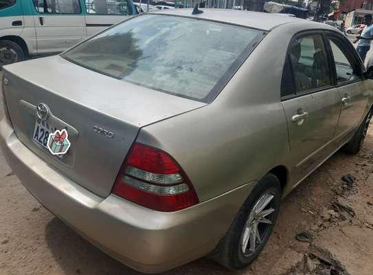 2003 Model-Toyota Corolla image 2
