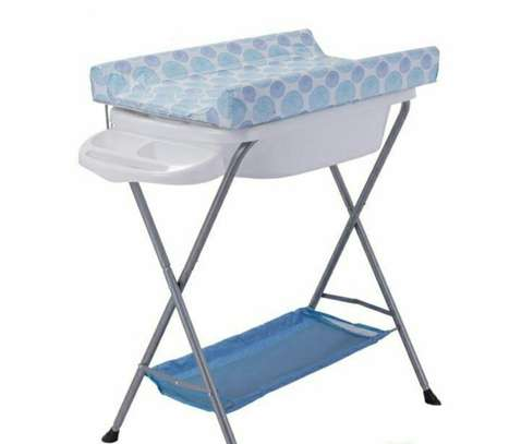 Stand Bather and Diaper Changing Table
