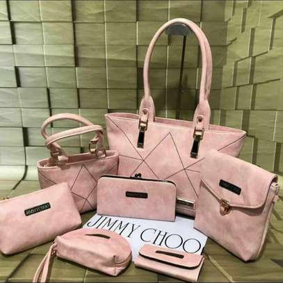 Jimmy Choo  7 Pcs Double zip Handbag image 1