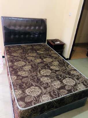 1.2 cm Bed With Bonded Mattress