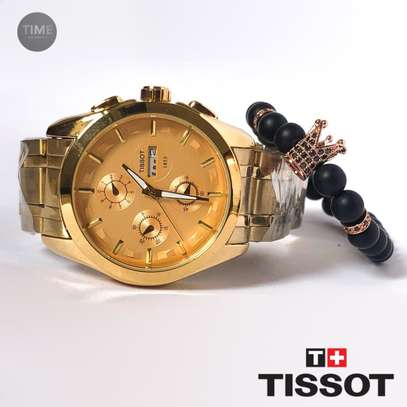Tissot Men's Watch + Bracelets image 1