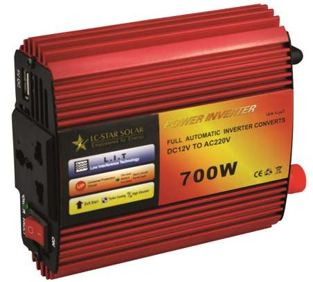 Power Inverter 700W 12v to 250v converter