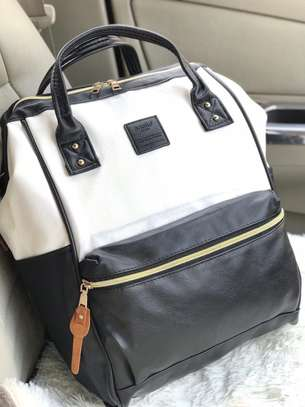 High quality Leather Travelling Backpack