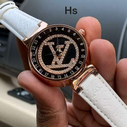 Louis Vuitton  Tambour Ladies Watch image 1