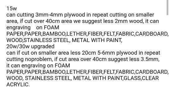 FEUNGSAKE 200*150cm 15W/20W/30W Laser Engraving Machine image 2