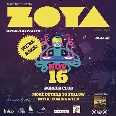 Zoya Electronic Music Party