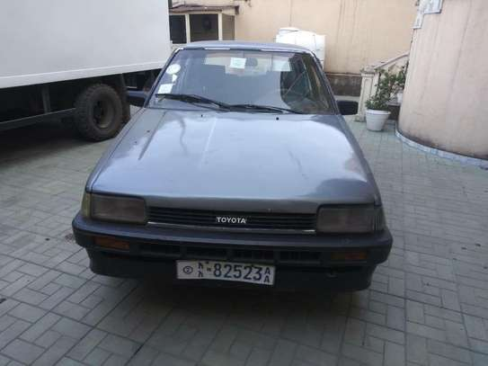 1986 Model-Toyota DX Compact