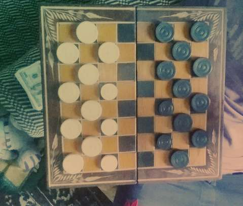Wooden Chess and Boxes