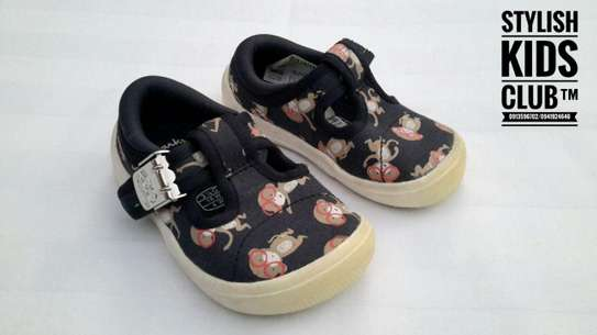 Briley Sky Doodles First Canvas Shoes