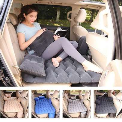 Car Travel Inflatable Mattress Air Bed image 1