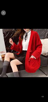 Red Colors Sweater image 1