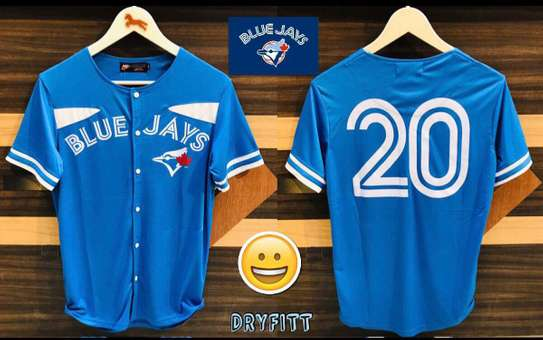 Nike Blue Jays Fully Front Buttons