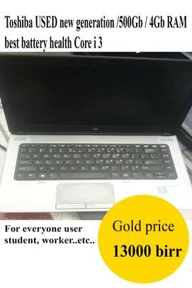 Toshiba Core I3 used new generation image 1