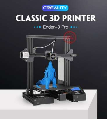 CREALITY Ender-3 Pro 3D Printer; Magnetic Build Plate; Resume Power Failure; MeanWell Power Supply; DIY Assembly Printer Kit image 1