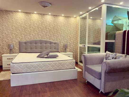 Bed Bedside With Single Sofa