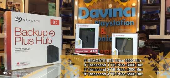 harddisk #electronics #transcend #seagate image 1