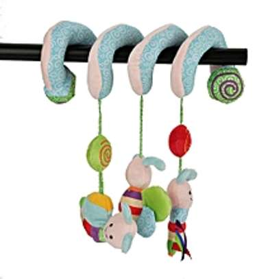 Infant Baby Kids Spiral Bee Insect Hanging Toy image 1