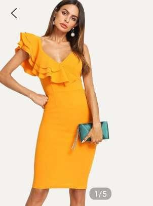 Yellow Women Dress image 3