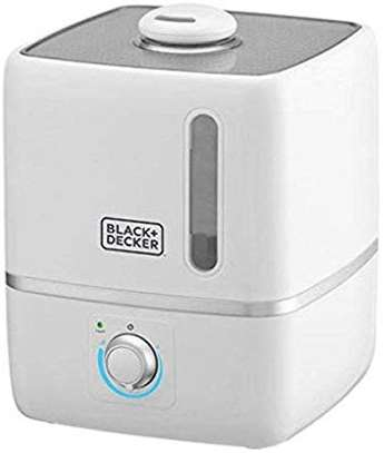 Black+Decker Ultrasonic Air Humidifier For Home and Office, 3L - White