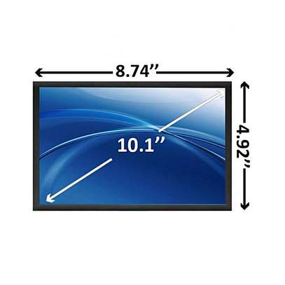 "10.1"" Replacement Netbook Screen LED backlight 1024 x 600 / WSVGA"