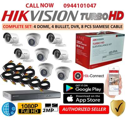 Camera Hikvision Turbo HD 8 Channel DVR + 8 HD Camera