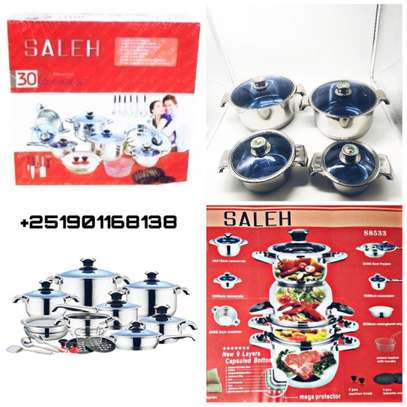 30 Pcs Stainless Steel Cook work Set