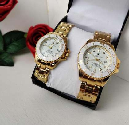 Rolex Couple Watch (Valentine Gift) image 5