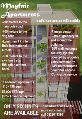 Apartments For Sale at Bole