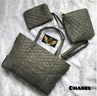 Channel 3 Pcs Combo Bag