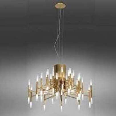 Gold Accent Wall Lamp image 1