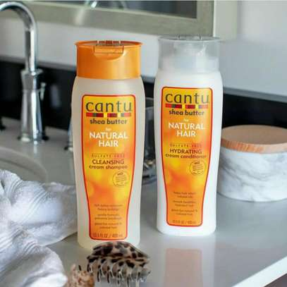 Cantu Shea Butter Shampoo and Conditioner