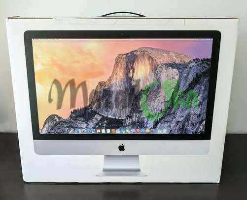IMac core i5 8GB Ram 256Ssd 4GB Graphics Card 27inch 2020Model Brand New image 1
