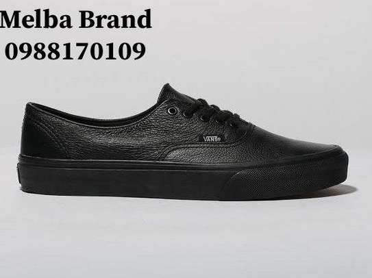 Leather Vans Shoe For Women