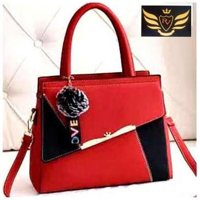 Imported Hand Purse(Red/Black)
